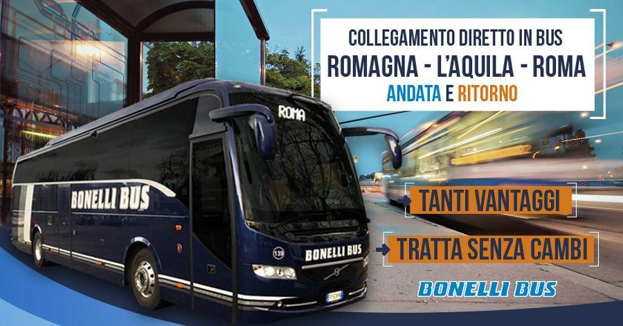 ROMAGNA - L'AQUILA - ROME