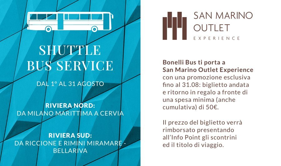 SAN MARINO OUTLET EXPERIENCE