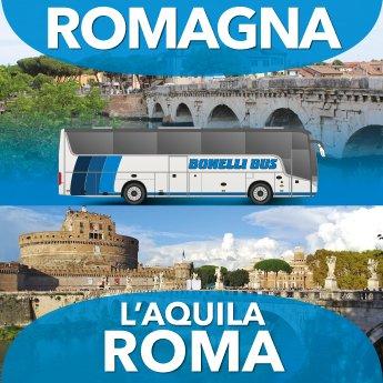 ROMAÑA - L'AQUILA - ROMA