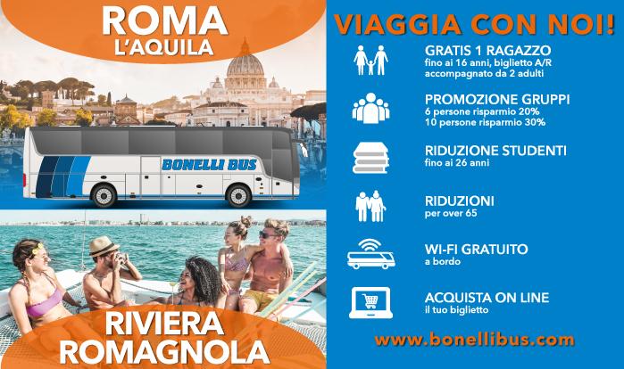 Bus Roma Rimini Riviera Romagnola