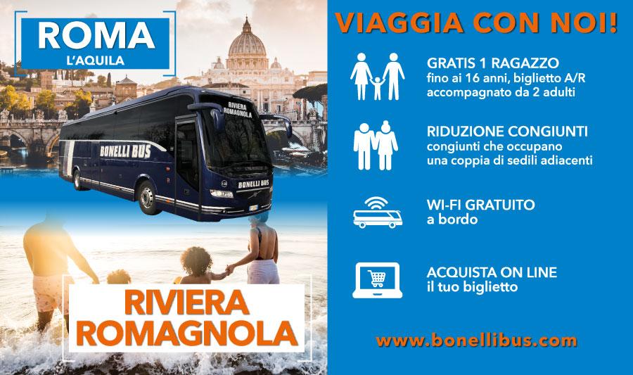 bus roma riviera romagnola rimini