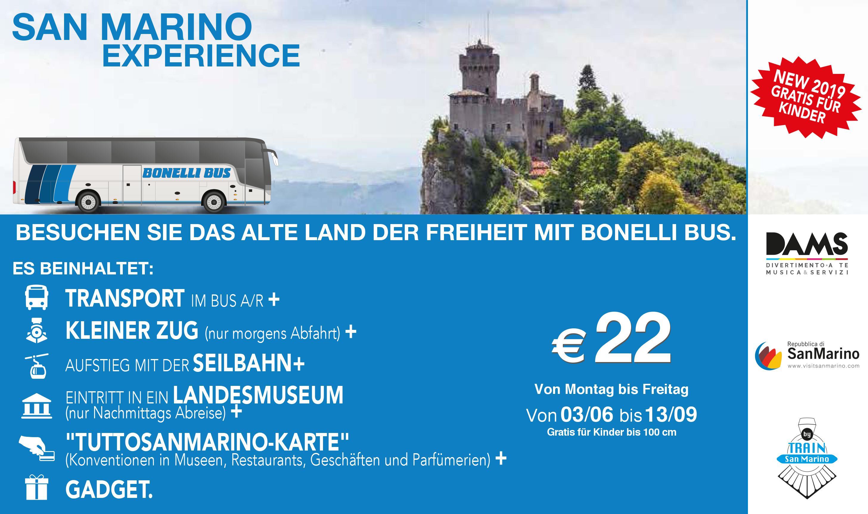 San Marino Experience german
